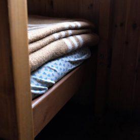 Serie 1: Stapelbed met goede dekens (foto: Janneke Stoffelen)