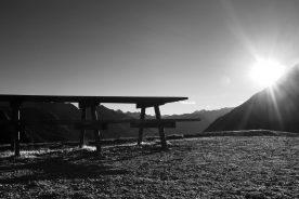 Serie 2: De laatste zon op het terras (foto: Janneke Stoffelen)