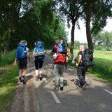 """Een team van Nieuwsuur wandelde dit weekend een deel mee voor hun reportage over <a href=""""https://nos.nl/nieuwsuur/artikel/2244421"""" target=""""_blank"""" rel=""""noopener noreferrer"""">duurzaam reizen</a> (Peter)"""
