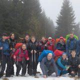 Sneeuwschoenwandeltocht in Ertsgebergte (Bastiaan van Kesteren)