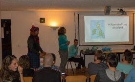 In november worden alle reizen aan de andere reisbegeleiders en vrijwilligers onthuld (Bas Wetter)