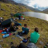 Kamperen aan een Schots meer (Ania)